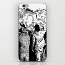 Union Square Protest (Part I) iPhone Skin