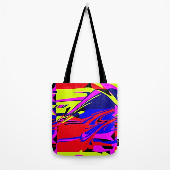 Retro Rectangle Tote Bag