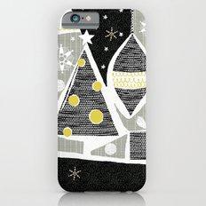 achromatic holidays iPhone 6s Slim Case