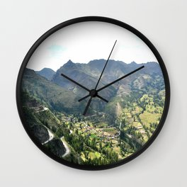 Précipice Wall Clock