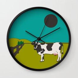 Visit Wisconsin Wall Clock