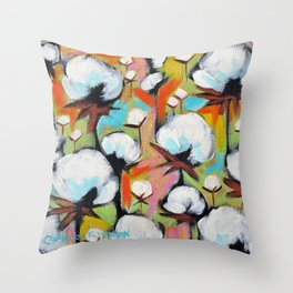 Delta Cotton no.15 Throw Pillow