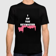Key Master  MEDIUM Mens Fitted Tee Black