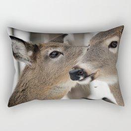 Chevreuil 004  Rectangular Pillow