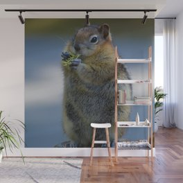 Ground Squirrel in Jasper National Park Wall Mural