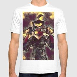 Samurai Jack Zentangle T-shirt