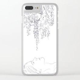 Daydreamer Clear iPhone Case