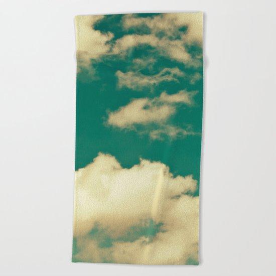 sky, clouds, dreams... Beach Towel