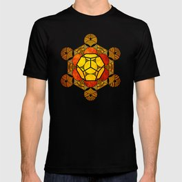 Sacred Geometry for your daily life -  Platonic Solids - ETHER COLOR T-shirt