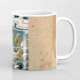Minhwa: Jumping Carp C Type Coffee Mug