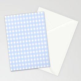 Serenity Checkered Stationery Cards