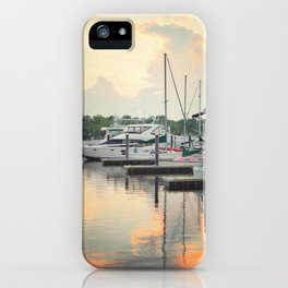 Little Pink Sailboat iPhone Case