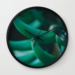 Jade Vine Wall Clock
