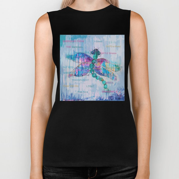 Journey of the Dragonfly Biker Tank