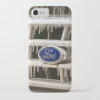 ford iPhone & iPod Cases featuring Cold Ford  by Joy Colmerauer
