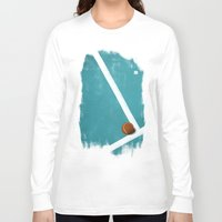 tennis Long Sleeve T-shirts featuring Tennis by Matt Irving