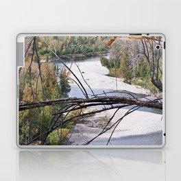 Overlooking the River Laptop & iPad Skin