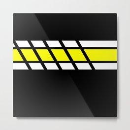 Team Colors 4...yellow Metal Print
