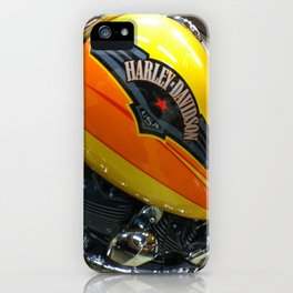 If Bumble Bee were a Harley iPhone Case