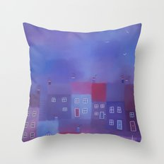 Devon evening Throw Pillow
