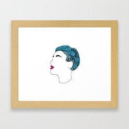 Everything Is Blue... Framed Art Print