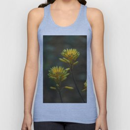 Yellow Blossoms Unisex Tank Top