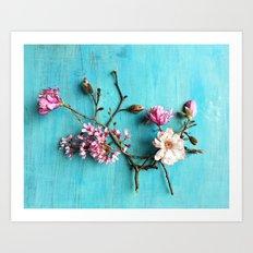 Flowers of Spring Art Print