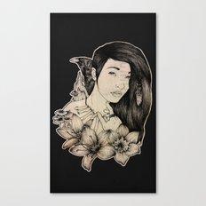 Plague Witch Canvas Print