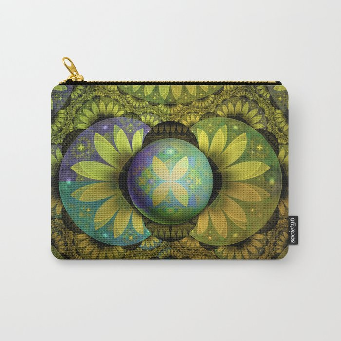 The Enchanted Feathers of the Golden Snitch Carry-All Pouch