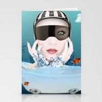 3d Stationery Cards featuring 3D by mark ashkenazi