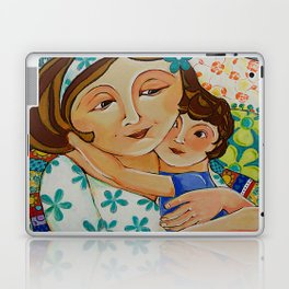 """""""Me, My Son And An Old Blanket"""" Laptop & iPad Skin"""
