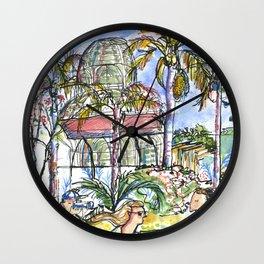 Botanical Garden Curitiba Brazil Wall Clock