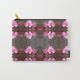 Pink Autumn Rose Photo 821 Carry-All Pouch