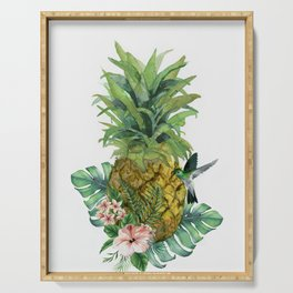 Tropical Pineapple Serving Tray