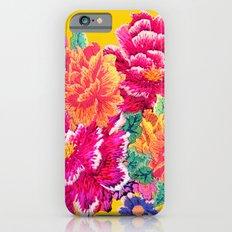 Oriental Peony Print iPhone 6s Slim Case