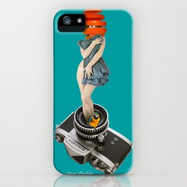 photographing every delicious moments iPhone Case