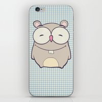 hamster iPhone & iPod Skins featuring Hamster by Mr and Mrs Quirynen