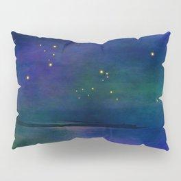 Winter lights Pillow Sham