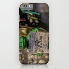 Froggy Reads the Wall Street Journal iPhone 6s Slim Case