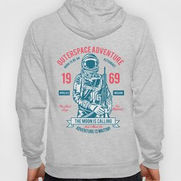 Outer space Adventure - Born to be an astronaut Hoody