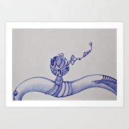 I want Art Print