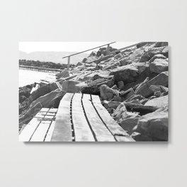 Close to shore Metal Print