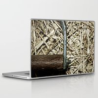 hook Laptop & iPad Skins featuring Hay Hook by Urlaub Photography