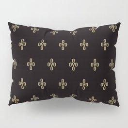 Pom Pom - Black Pillow Sham