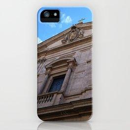Upward Cross, Chiesa di San Luigi dei francesi iPhone Case