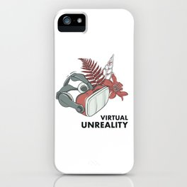Virtual unreality iPhone Case