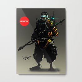 Recon Metal Print