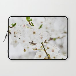 White blooming Laptop Sleeve