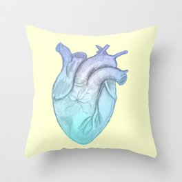 Cold Hearted Throw Pillow