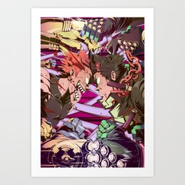 Stardust Crusaders Art Print